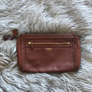 Coach Legacy Large Leather Clutch
